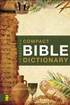Zondervan's Compact Bible Dictionary,0310489814,9780310489818