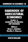 Handbook of Agricultural Economics, Vol. 1B Marketing, Distribution, and Consumers 1st Edition,0444507299,9780444507297