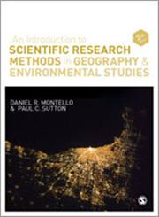An Introduction to Scientific Research Methods in Geography and Environmental Studies,1446271919,9781446271919
