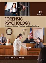 Forensic Psychology 2nd Edition,1118554132,9781118554135
