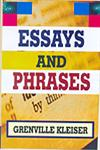 Essays and Phrases,8131305511,9788131305515