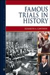 Famous Trials in History,0816081670,9780816081677