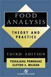 Food Analysis Theory and Practice 3rd Edition,0834218267,9780834218260