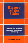 The Sikh Lion of Lahore Maharaja Ranjit Singh, 1799-1839 Vol. 5 1st Edition,8121505151,9788121505154
