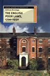 The English Poor Laws, 1700-1930,033368270X,9780333682708