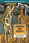 Language and Society 2ed 2nd Edition,0521456630,9780521456630