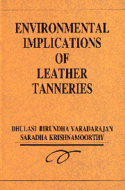 Environmental Implications of Leather Tanneries,8170245648,9788170245643