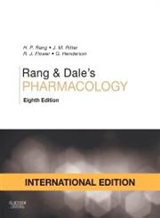 Rang & Dale's PHARMACOLOGY 8th International Edition,0702053635,9780702053634