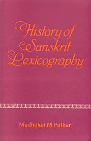 History of Sanskrit Lexicography 1st Edition,8121502128,9788121502122