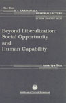 Beyond Liberalization Social Opportunity and Human Capability