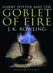 Harry Potter and the Goblet of Fire Adult Edition,0747574502,9780747574507