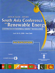ASSOCHAM-MNES South Asia Conference on Renewable Energy, April 18-19, 2006, New Delhi Cooperation in Renewable Energy Technologies : Backgrounder