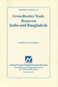 Cross-Border Trade Between India and Bangladesh,8185877297,9788185877297