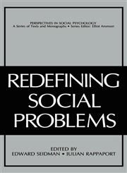 Redefining Social Problems,030642052X,9780306420528