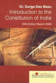Introduction to the Constitution of India 20th Edition, Reprint 2012,8180385590,9788180385599