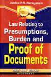 Law Relating to Presumptions, Burden and Proof of Documents 2nd Edition