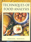 Techniques of Food Analysis 1st Edition,8177541072,9788177541076