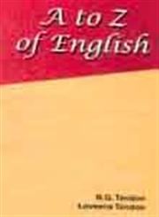 A to Z of English,8180520919,9788180520914