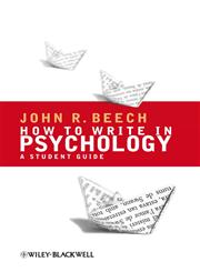 How to Write in Psychology A Student Guide,1405156937,9781405156936