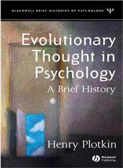 Evolutionary Thought in Psychology A Brief History,1405113782,9781405113786
