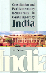 Constitution and Parliamentary Democracy in Contemporary India,8185771448,9788185771441