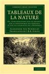 Tableaux de La Nature,1108052754,9781108052757