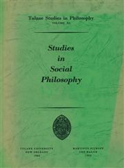Studies in Social Philosophy,9024702852,9789024702855