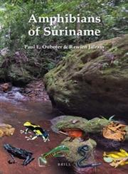 Amphibians of Suriname,900421075X,9789004210752