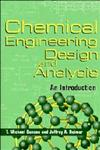 Chemical Engineering Design and Analysis An Introduction,0521639565,9780521639569