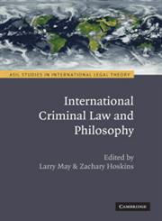 International Criminal Law and Philosophy,0521191513,9780521191517