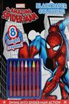 Marvel Spiderman Black Paper Colouring Book,1445496100,9781445496108