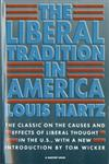 The Liberal Tradition in America 2nd Edition,0156512696,9780156512695