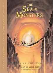 The Sea of Monsters Percy Jackson and the Olympians, Book 2,0739331191,9780739331194