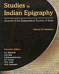 Studies in Indian Epigraphy Journal of the Epigraphical Society of India Vol. 8