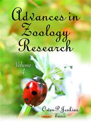 Advances in Zoology Research, Vol. 4,1620811227,9781620811221