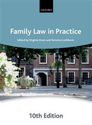 Family Law in Practice 10th Edition,0199641501,9780199641505