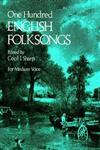 One Hundred English Folk Songs For Medium Voice,0486231925,9780486231921