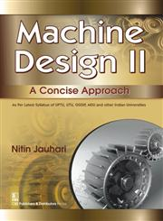Machine Design ll A Concise Approach,8123928769,9788123928760