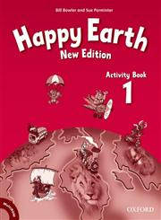 Happy Earth, New Edition, Level 1 Activity Book and MultiROM Pack,0194732886,9780194732888