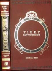 Tibet Past and Present Reprint London 1924 Edition,8120604822,9788120604827