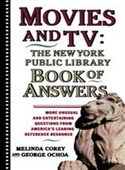 Movies and TV The New York Public Library Book of Answers,0671775383,9780671775384
