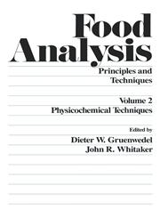 Food Analysis Principles and Techniques (in 4 Volumes),0824771826,9780824771829
