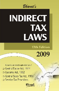 Bharat's Indirect Tax Laws 13th Edition,8177334832,9788177334838