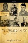 Criminology 5th Edition,0199651841,9780199651849
