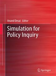 Simulation for Policy Inquiry,1461416647,9781461416647