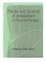 The Art and Science of Assessment in Psychotherapy,0415105390,9780415105392