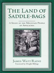 Land of Saddle-Bags-Pa,0813109299,9780813109299