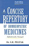 A Concise Repertory of Homoeopathic Medicines Alphabetically Arranged 4th Revised & Corrected Edition, Reprint,8131902005,9788131902004