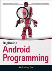 Beginning Android Programming,1118705599,9781118705599