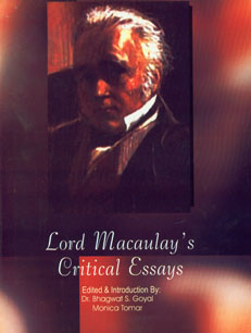 Lord Maucaulay's Critical Essays 2 Vols. 1st Edition,8188658898,9788188658893